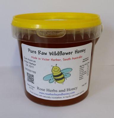 Raw Wildflower Honey 1kg, $12.50