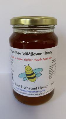 Raw Wildflower Honey 500g, $7.50