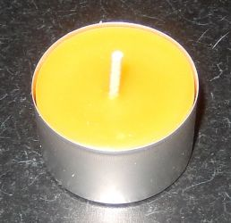 Tea Light 4hrs, 25g, 40x25mm $2.00
